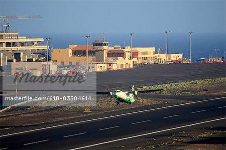 Spain, Canary islands, La Palma, airport