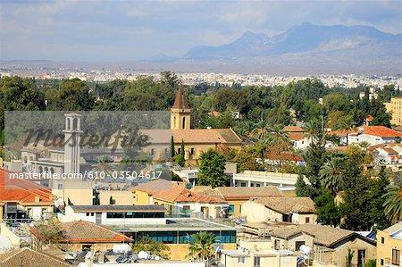 Cyprus, Nicosia, general view