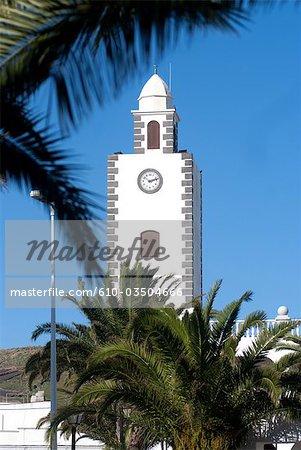 Spain, Canary islands, Lanzarote, San Bartolomé, church