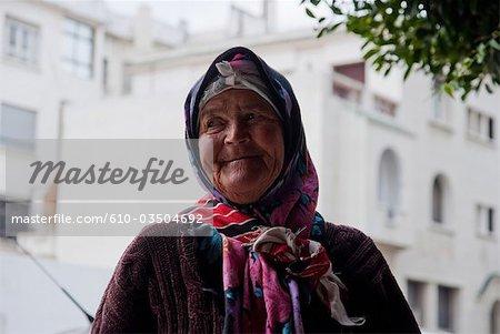 Morocco, Tangier, berber woman