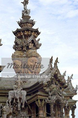 Thailand, Pattaya, the sanctuary of truth