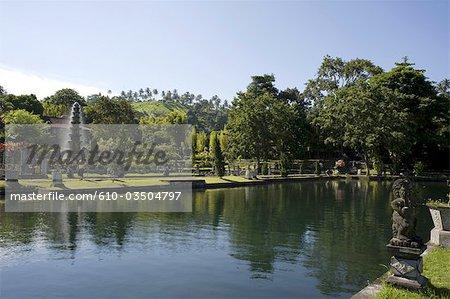 Indonesia, Bali, Tirtagangga, royal gardens