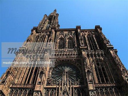 France, Alsace, Strasbourg, cathedral