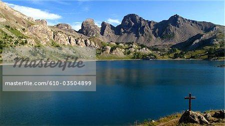 France, Provence, lake of Allos