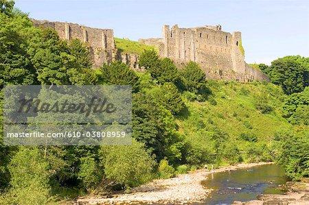 England, North Yorkshire, castle of Richmond