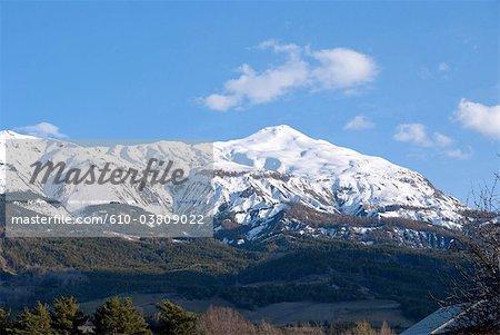 France, Provence, Ubaye valley, croix de l'Alpe