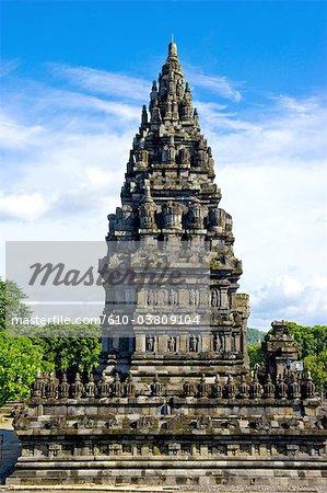 Indonesia, Java, Yogyakarta, Prambanan temple