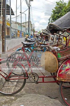 Indonesia, Java, Yogyakarta, bikes