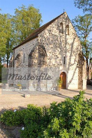 France, Ile de France, Milly-la-Foret, St Blaise des simples chapel