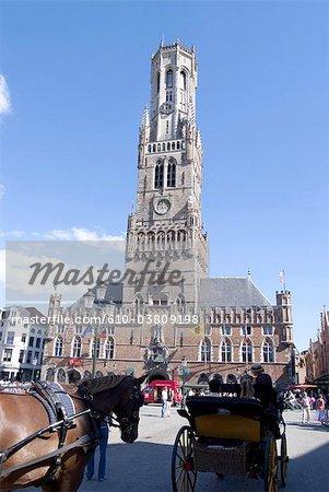 Belgium, Bruges, belfry