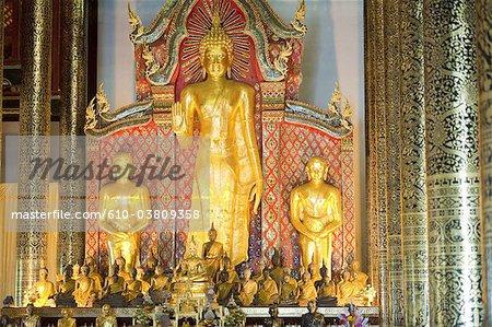 Thailand, Chiang Mai, Wat Chedi Luang temple