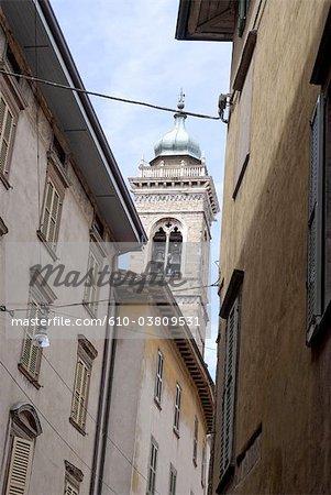 Italy, Lombardy, Bergamo, street