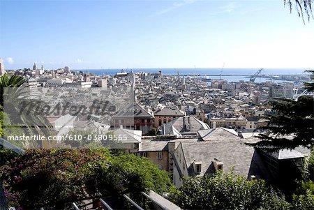 Italy, Liguria, Genoa, general view