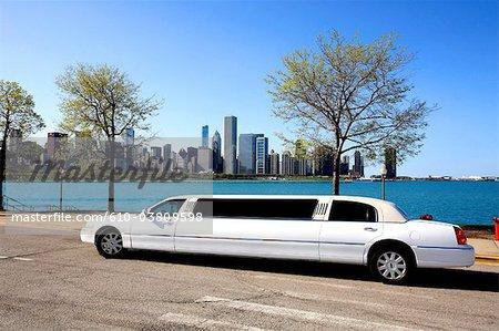 United States, Illinois, Chicago, Limousine