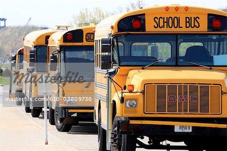 United States, Wisconsin, Milwaukee, school bus