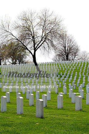 United States, Wisconsin, Milwaukee, Woods national cemetery
