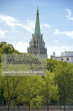 France, Paris (75), Ile de France, american church