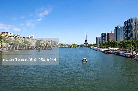 France, Paris (75), Ile de France, the Eiffel tower
