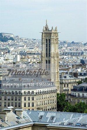 France, Paris (75), Ile de France, Saint Jacques tower