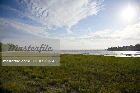 France, Poitou Charentes, estuary of Talmont sur Gironde