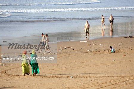 Morocco, Agadir, beach