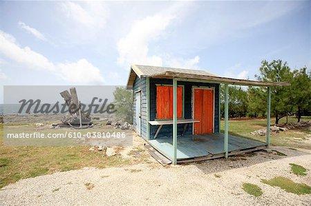 Barbados, North Point, hut
