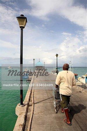 Barbados, Oistins, the port