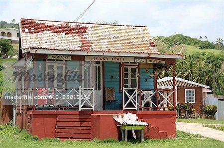 Barbados, Bathsheba, traditional house