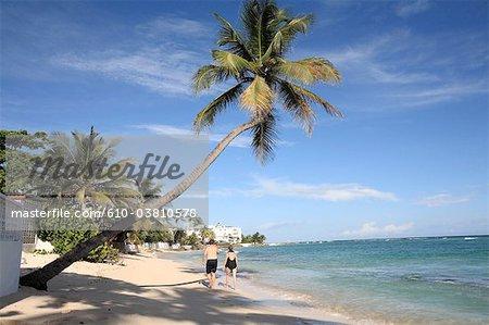 Barbados, Worthing beach