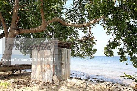 Barbados, Six Men's bay, hut