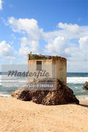 Barbados, lifeguard station