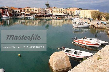 Greece, Crete, Rethymno, the port