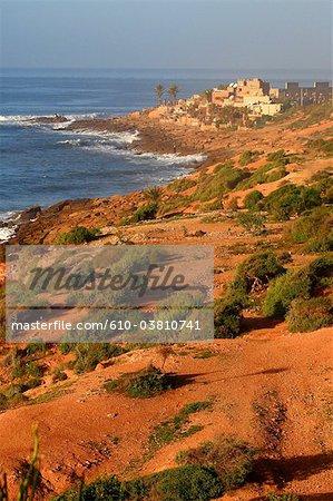 Morocco, Taghazout, seaside
