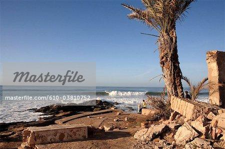Morocco, Imessouane, seaside