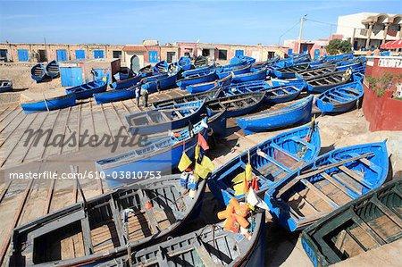 Morocco, Imessouane, the port