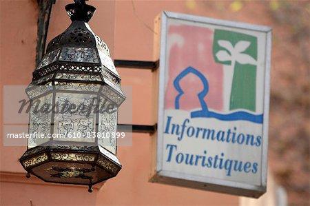 Morocco, Marrakech, lantern