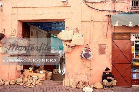 Morocco, Marrakech, medina
