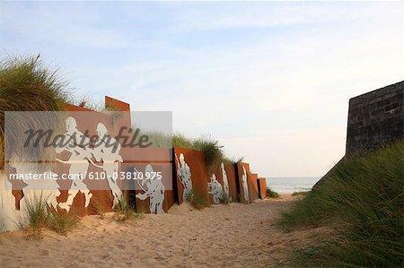 France, Normandy, Courseulles-sur-Mer, juno beach