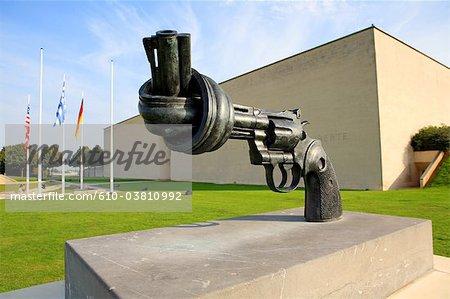 France, Normandy, Caen memorial