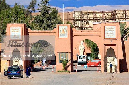 Morocco, High Atlas, Ouarzazate, film studio