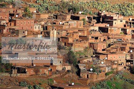 Morocco, village near Marrakech