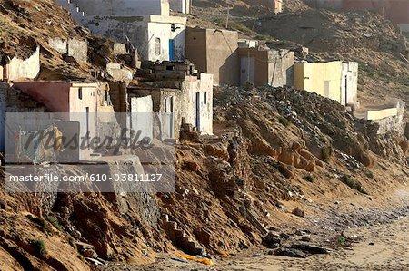 Morocco, Tiznit, Aglou beach