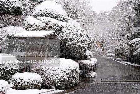 Japan, Hakone, railway station of Gora