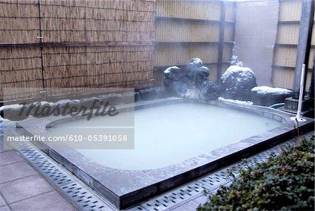 Japan, Hakone, onsen (thermal bath)