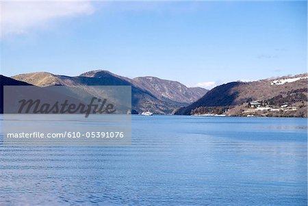 Japan, Hakone, bank of the lake Ashi