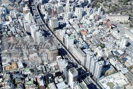 Japan, Tokyo, aerial view