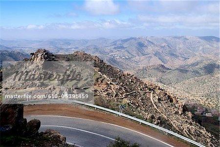 Morocco, Kerdous pass between Tafraout and Tiznit