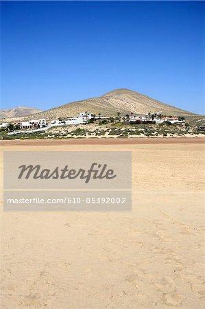 Spain, Canary islands, beach of Sotavento