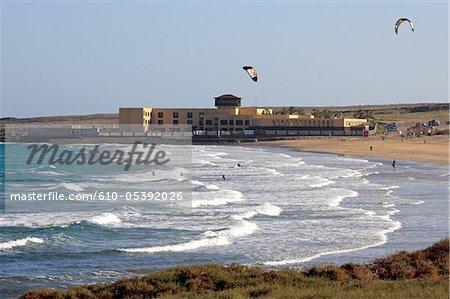 Spain, Canary islands, Lanzarote, Playa blanca, the beach