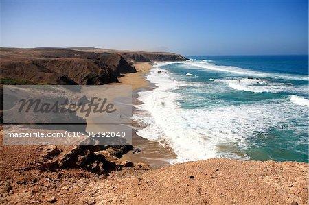 Spain, Canary islands, beach of La Pared